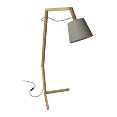 Scandinavian Floor Lamp: Bellila - Bellila Oud Floor Lamp, Gray - Floor Lamps,Lighting