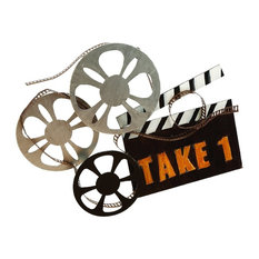 """Take 1"" Movie Wall Sculpture"