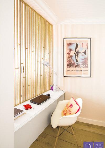 Classique Chic Bureau à domicile by The Design Interior