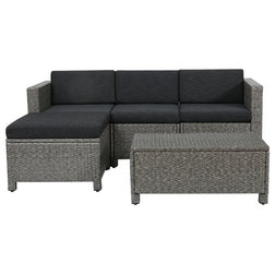 Fabulous Tropical Outdoor Lounge Sets by GDFStudio