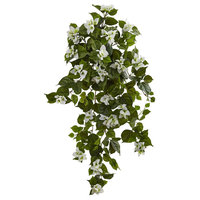 """37"""" Bougainvillea Hanging Artificial Plant (Set of 2)"""