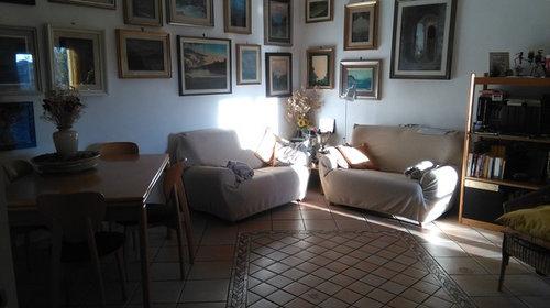 Cambio disposizione mobili soggiorno