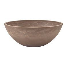 Garden Bowl, Taupe, Large