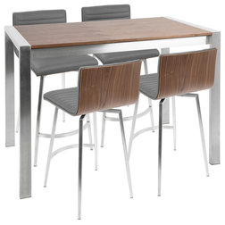 Contemporary Indoor Pub And Bistro Sets by HedgeApple