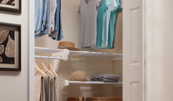 Reach In Closet with Shoe Rack