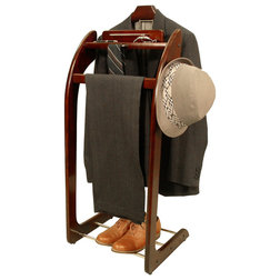 Transitional Clothing Valets And Suit Stands by BisonOffice
