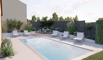 Création d'un espace piscine
