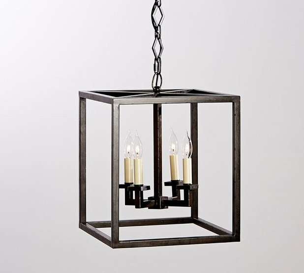 Contemporary Outdoor Hanging Lights by Pottery Barn