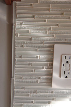 Installing Glass Subway Tile What To Use For Bullnose