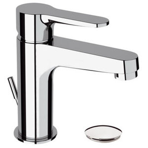 Winner Chrome Plated Bathroom Sink Mixer Tap With Pop-Up Waste