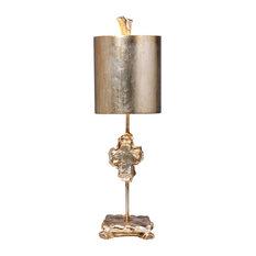 """Cross"" Silver Table Lamp"