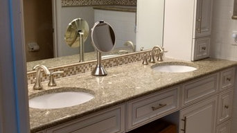 Custom Cabinets, Countertops, Tile Work
