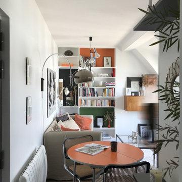 Appartement 2 pièce, Paris 18ème