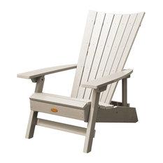 Manhattan Beach Adirondack Chair, Whitewash
