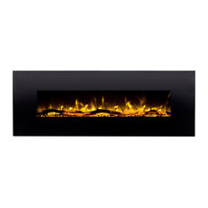 """GL5072LE Oakland 72"""" Log Linear Wall Mounted Electric Fireplace"""