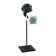 Dog Paper Stand, Bronze Iron