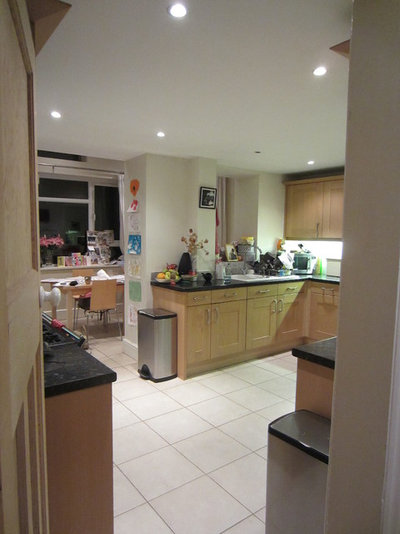 Kitchen of the Week: A Super Open-Plan Light Bright Family Space