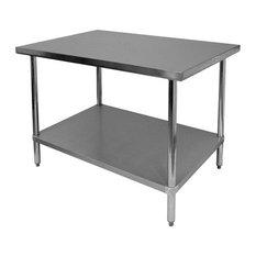 24-inchx72-inchx35  430 Stainless Steel Worktable Flat Top