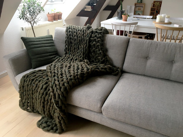 Moderigtigt DIY: Håndstrik dit eget slumretæppe på ingen tid LF68