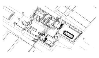 Проект загородного дома с плоской кровлей