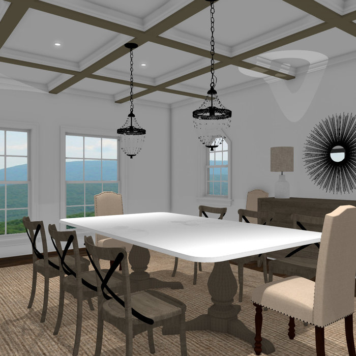 Conceptual Dining Room Design