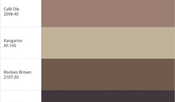 My BENJAMIN_MOORE® Color Palette
