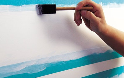 How to Paint Stripes Right