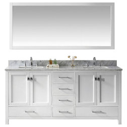 Transitional Bathroom Vanities And Sink Consoles by PARMA HOME