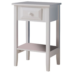Transitional Nightstands And Bedside Tables by Pilaster Designs