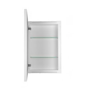 Recessed Shallow Hampton Frameless Cabinet, 3.5
