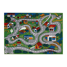 "Fun Rugs Fun Time Collection Country Fun Area Rug, 39""x58"""
