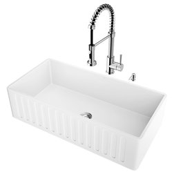 Farmhouse Kitchen Sinks by VIGO Industries