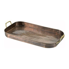 Antique Oblong Tray