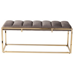 Contemporary Upholstered Benches by Design Tree