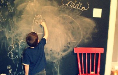 Decorating Kid's Rooms With Chalkboard Paint