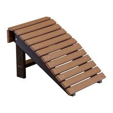 Heritage Folding Footstool, White
