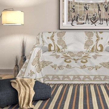 Copri divani, foulard