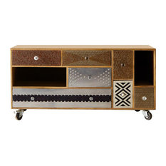 Pearl Large Reclaimed Wood TV Credenza