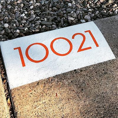 Minimalistisch Garten-Produkte by Modern House Numbers