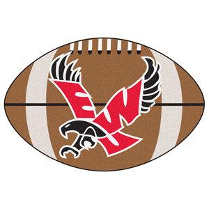 New Mexico Lobos Touchdown Football Area Rug