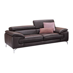 ju0026m furniture a973 italian leather sofa coffee sofas - Italian Leather Sofa
