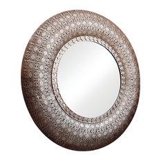 Karina Round Wall Mirror, 99x99 cm
