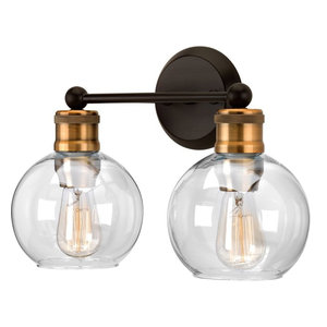 Luxury Vintage Bathroom Vanity Light, Belfast Series, Olde Bronze