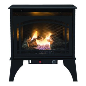 Kozy World® Gsd2210 Phoenix Vent-Free Gas Stove With Thermostat, 20000 Btu