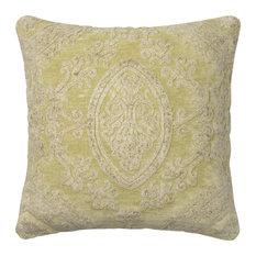 Loloi Transitional Cotton Pillow Cover, Pistachio, 22  x22