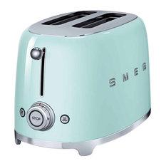 Smeg 2-Slice Toaster, Pastel Green