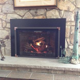 Pleasant Mendota Gas Fireplaces Houzz Beutiful Home Inspiration Truamahrainfo
