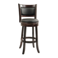 "Boraam Industries, Inc. - Augusta Swivel Stool, Cappuccino, 29"" - Bar Stools and Counter Stools"