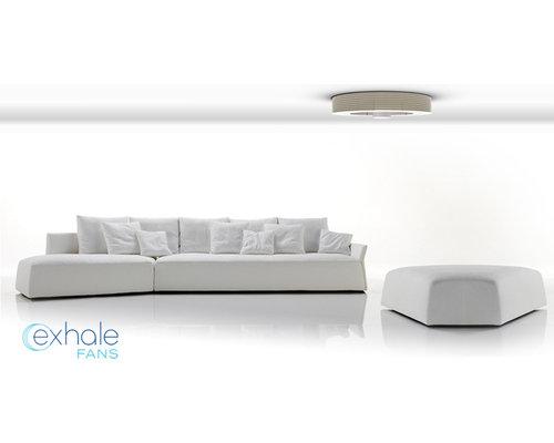 Exhale Fan Review exhale fans - first truly bladeless ceiling fan.