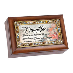 Music Keepsake Box Daughter So Proud of You Love